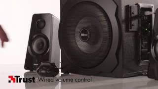 Trust Tytan 2.1 Subwoofer Speaker Set With Bluetooth