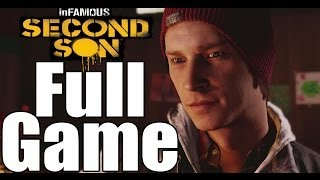Infamous Second Son Full Game Walkthrough - No Commentary