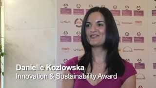 Innovation & Sustainability - FTA everywoman In Transport & Logistics Awards 2013