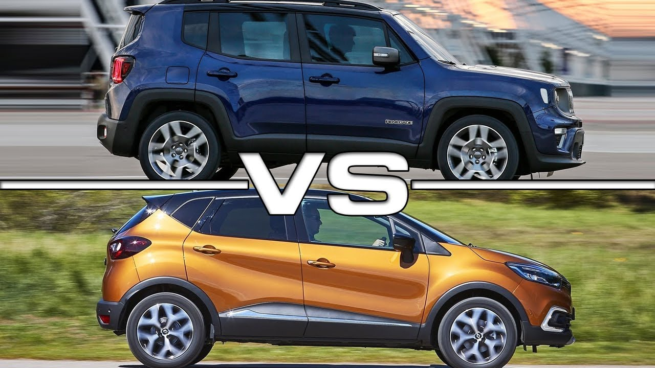 2019 Jeep Renegade Vs 2018 Renault Captur Technical Specifications