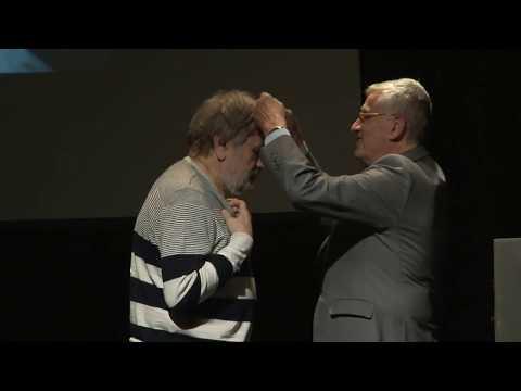 Entrega de la Medalla de Oro del CBA a Slavoj Žižek + conferencia sobre Lubitsch