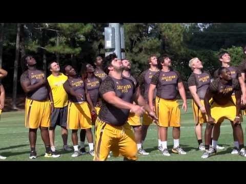 Bye Week Team Building - Southern Miss Football