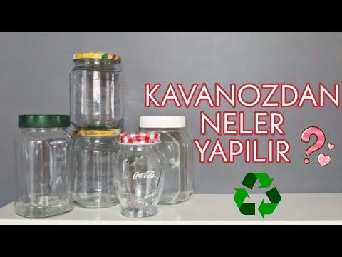 KAVANOZLARDAN NELER YAPILIR / Geri Dönüşüm / Recycle / Kendin Yap