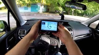 Автомобильный навигатор Navitel G500 - обзор в поездке, оцениваем возможности в реальном времени