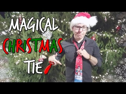 MAGICAL CHRISTMAS TIE!?!