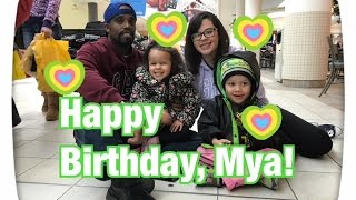 Mya's turning FIVE!