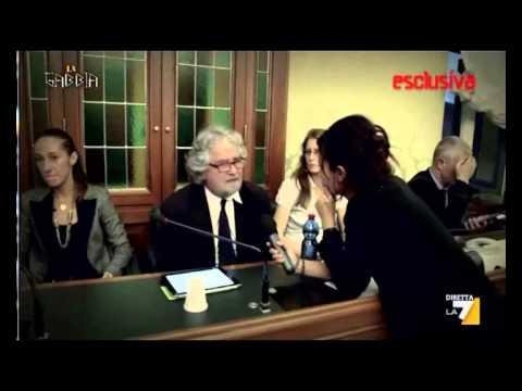 Beppe grillo la gabbia 30 10 2013 youtube for Youtube la gabbia