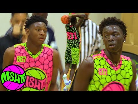Top Freshman Go Head to Head - Elijah Fisher vs Omaha Biliew  2019 MSHTV Camp