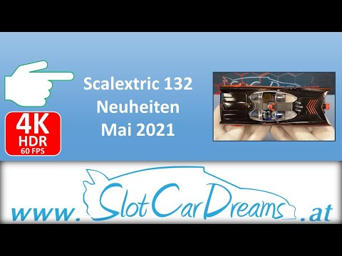 Scalextric 132 Neuheiten Mai 2021