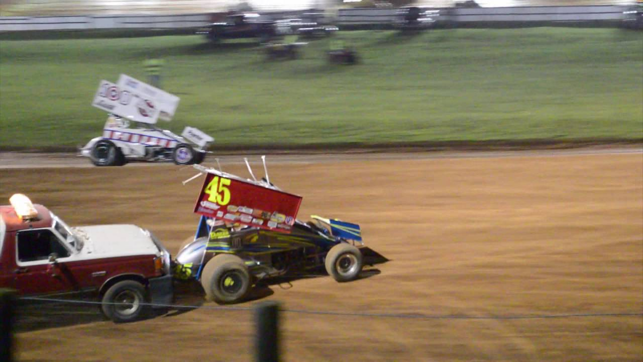 Bloomington Speedway Indiana Racesaver Sprint Car Full Feature