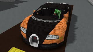 Monster School: Driving Lesson ! - Minecraft Animation
