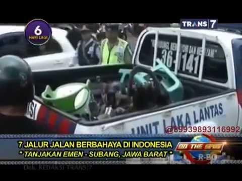On The Spot - 7 Jalur Jalan Berbahaya Di Indonesia