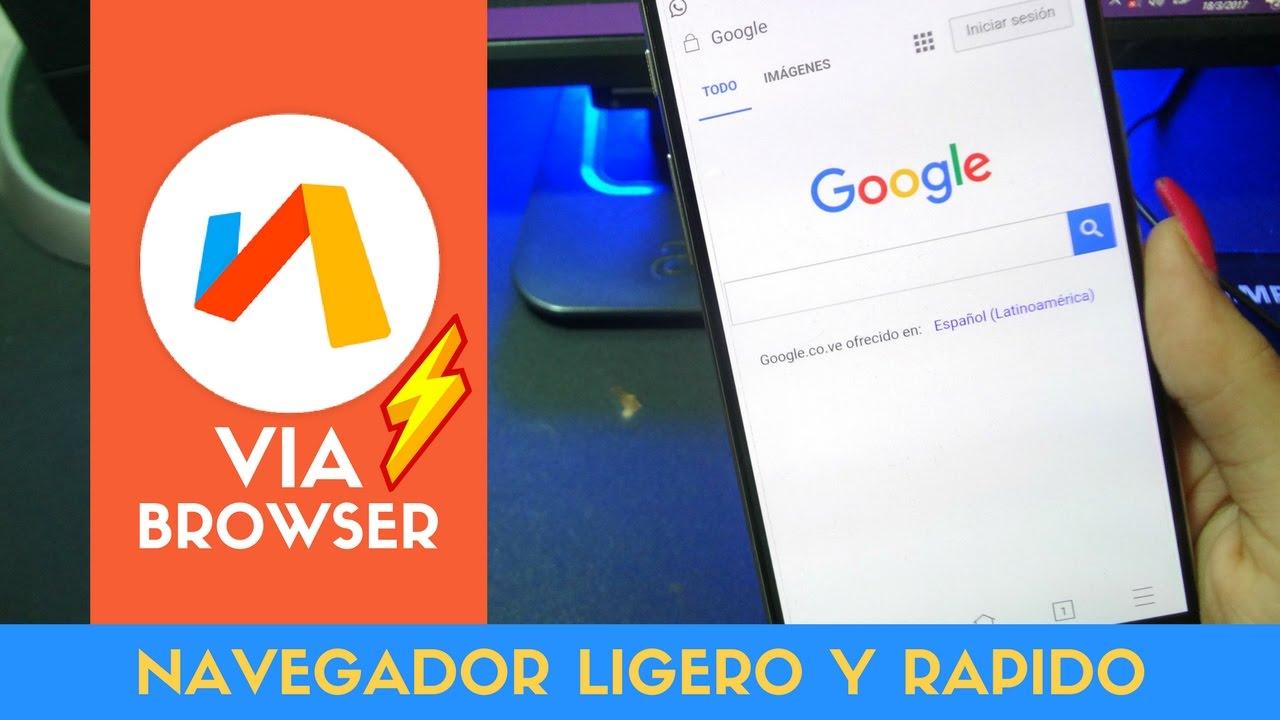 Nuevo Navegador de Internet MAS RAPIDO 2019 😱 / El Mejor ...
