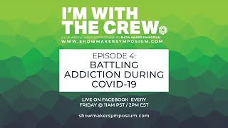 EPISODE 4 - Battling Addiction During COVID-19 - w/ Geoff Rickly