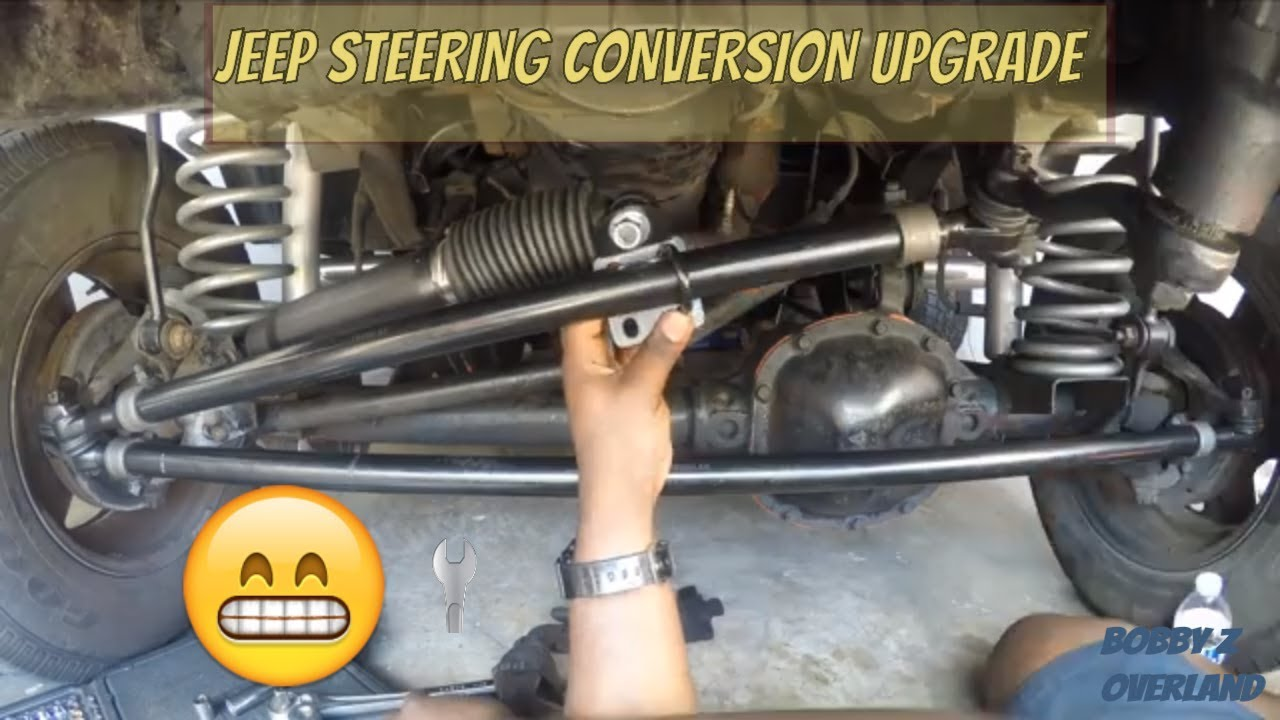 How To Install A Rugged Ridge Steering Conversion Kit