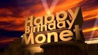 Happy Birthday Monet