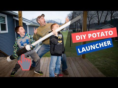 How To Make A Potato Launcher