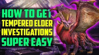 Download lagu HOW TO Get TEMPERED Elder Dragon Track Investigations EASY Monster Hunter World Tips and Tricks MP3