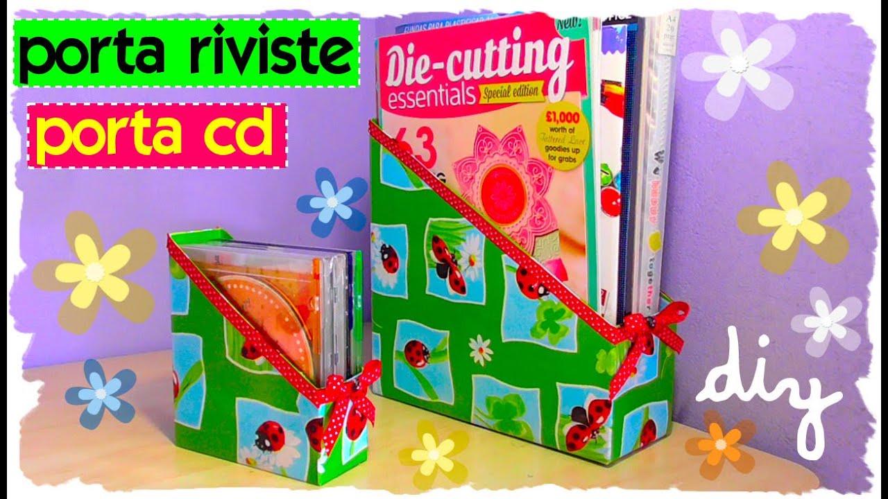 Tutorial come realizzare un porta cd e un porta riviste riciclo creativo diy magazine - Porta cd fai da te ...