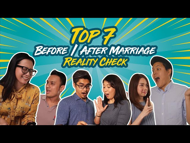Valentine's Day: Top 7 Before/After Marriage Reality Check ✅   How Malaysian Couples React