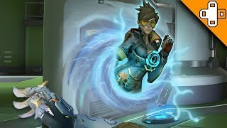 DONT GO THROUGH THE PORTAL! Overwatch Funny & Epic Moments 805