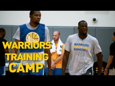 New Look Warriors Put in WORK at Training Camp!