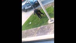 Hammond Indiana Police Officer Abusing Canine