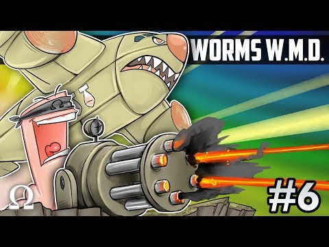 MOST HILARIOUS TURRET PLAYS EVER! | Worms W.M.D. #6 Ft. Jiggly, Chilled, Sattelizer, Swag