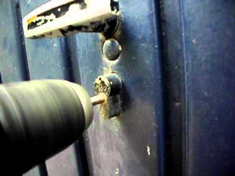 Favorit Öffnung Garagenschloss Schlüsseldienst Bremen Oldorf.AVI - YouTube HG83