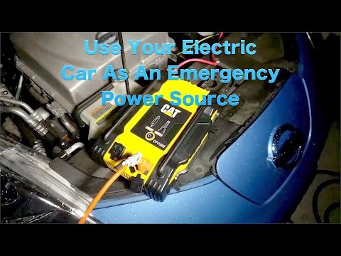 How To Power Your House In an Emergency From Your Electric Car
