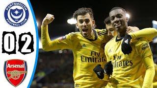 Арсенал обыграл Портсмут и вышел в 1 4 Кубка Англии