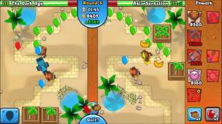 BTD Battles - How to win with regrow camo red