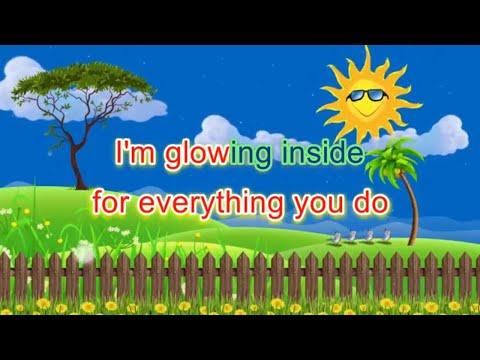 Glowing Inside Karaoke   Minus One   Accompaniment