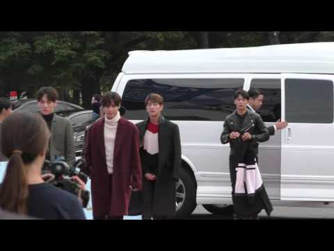 150920 SHINee Dream Festival Red Carpet Entering and Exit