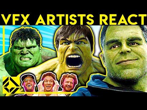 VFX Artists React to Bad & Great CGi 35