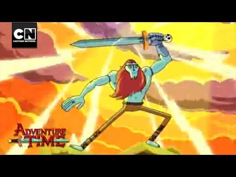 The Sword of Billy  Adventure Time  Cartoon Network