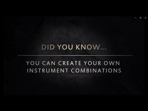 Création de combinaison d'instruments