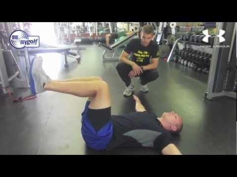 Golf Fitness exercises at Fitness Quest 10