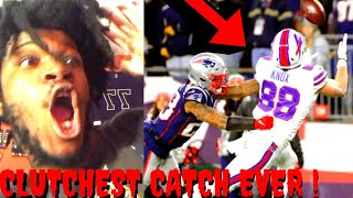 BILLS VS PATRIOTS REACTION NFL WEEK 16 HIGHLIGHTS 2019 - CLUTCHEST CATCH OF THE YEAR !