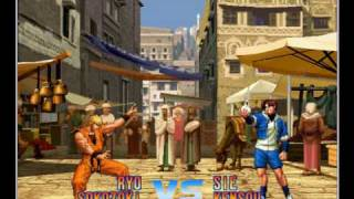 The King of Fighters: Dream Match 1999 on nullDC 1.0.3 - Dreamcast Emulator