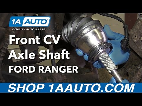 How to Replace Front CV Axle Shaft 01-02 Ford Ranger