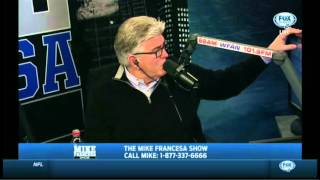 Mike Francesa caller: Do the SF Giants & NY Giants ever get together for dinner?