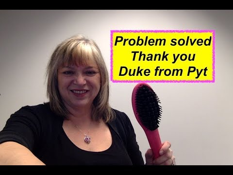 Problem solved - Pyt Thermal Styling Brush
