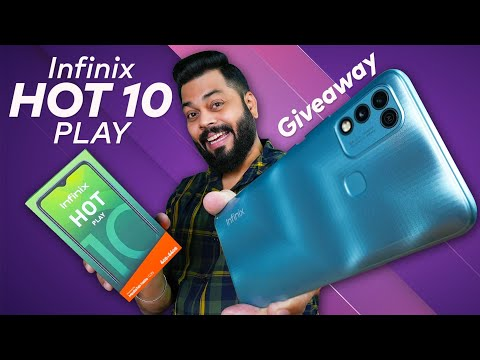 Infinix Hot 10 Play Unboxing And First Impressions | Giveaway ⚡ Helio G35, 6000mAh & More