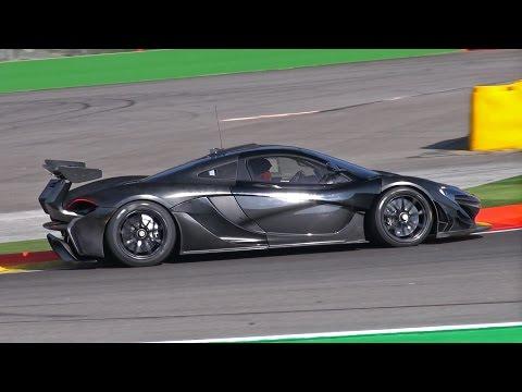 McLaren P1 GTR – Prototype Testing FLATOUT!