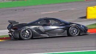 McLaren P1 GTR - Prototype Testing FLATOUT!
