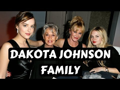 Actress Dakota Johnson Family Photos with Parents Melanie Griffith, Don Johnson, Sisters, Siblings