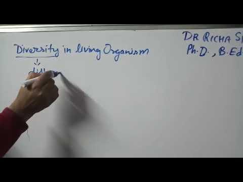 Diversity in living organism  (part 1)