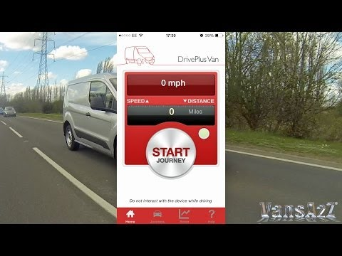 Direct Line DrivePlus Van Smartphone App