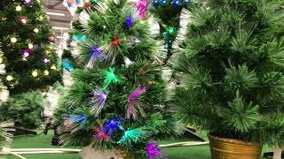 Маленькие елочки и елки со световым эффектом